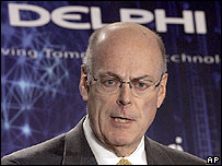 Delphi's chairman and chief executive Robert S Miller