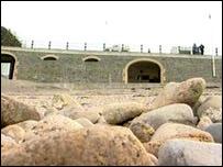 Pebbles on Clevedon beach