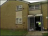 Paul Cooper's flat in Heywood