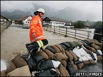 Floods in southern Germany, 2005, Getty Images