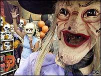 Halloween masks.