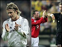 Beckham and Rooney