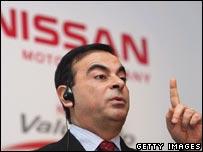 Nissan president Carlos Ghosn