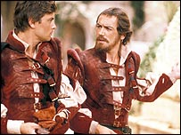 Robert Reynolds as Claudio, Robert Lindsay as Benedick