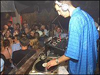 Image of a club DJ