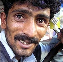 Bus driver Hussain Kiyani