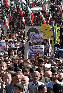 Marchas en Teherán este viernes