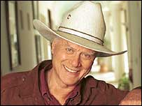 Actor Larry Hagman played JR in the Dallas