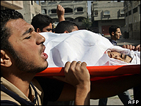 Gaza funeral - 28 October