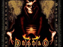 Pack shot from Diablo II, Blizzard