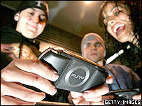 US gamers get to grips with the PSP