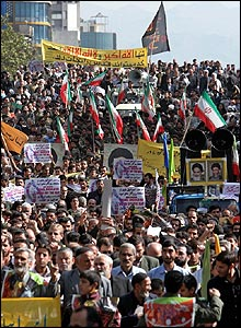 Jerusalem Day rally in Tehran