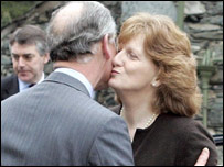 Prince Charles bids farewell to Hazel Relph