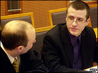 Jon Johansen in court