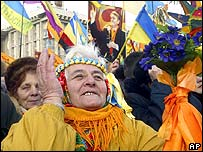 Yushchenko supporter
