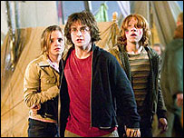 Emma Watson, Daniel Radcliffe and Rupert Grint