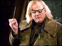 Brendan Gleeson as Mad-Eye Moody in Harry Potter and the Goblet of Fire