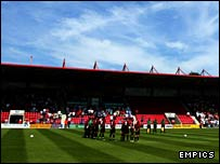 Bournemouth's Dean Court stadium