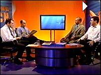 Paddy, Adam, Eddie and Bryan