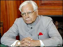Indian Foreign Minister Natwar Singh