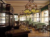 Interior of the restored Grand Cafe Orient in Prague  (Photo: Petr Neubert)