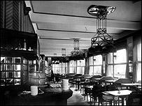 Original interior of Prague's Grand Cafe Orient (Photo: Architecture and Building Dept, Czech National Technical Museum)