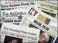 India press front pages