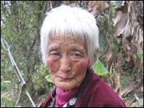 Dema, farmer in Bhutan