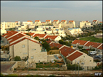 Maale Adumin settlement in the West Bank