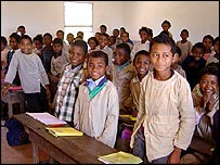 Schoolchildren in Madagascar