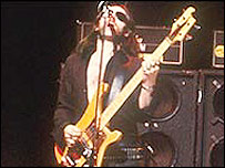 Lemmy on stage