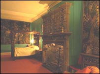 Muncaster Castle tapestry room