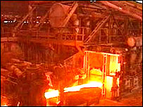 ASW steel furnace