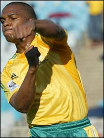 South Africa and Manchester United midfielder Quinton Fortune