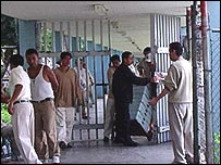 Inmates at the North Preventive Jail