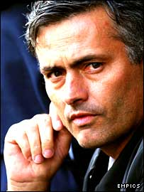 Chelsea manager Jose Mourinho