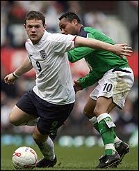 Wayne Rooney turns on the ball