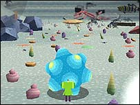 Screenshot of We Love Katamari