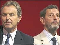 Tony Blair and David Blunkett