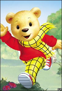 Rupert the Bear's new look