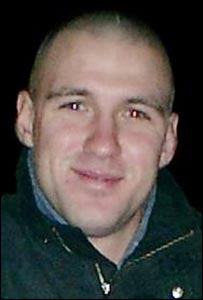 Lance Corporal Steven Gregory Sherwood