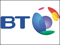 BT's logo - copyright BT
