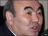 Ousted Kyrgyz President Askar Akayev