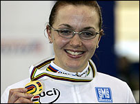 World champion Victoria Pendleton
