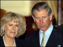 Prince Charles and Mrs Parker Bowles