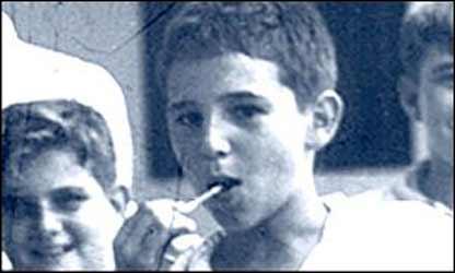 Кастро в школьные годы