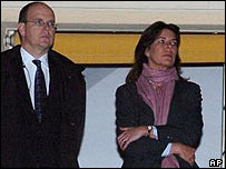 Prince Albert and Princess Caroline