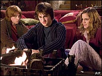 A scene from Harry Potter and the Goblet of Fire