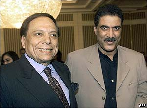 Ahmed Zaki with Adil Imam