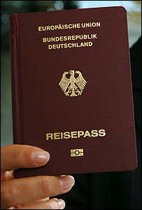 new german passport